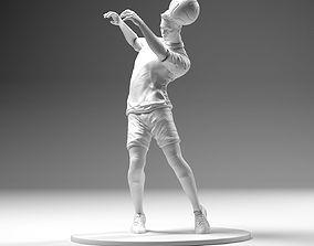 Footballer 02 Headstrike 01 Stl 3D print model