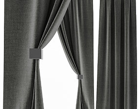 Curtains Tower 3D model