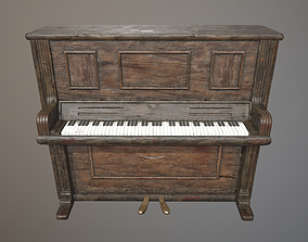 3D model Piano - PBR Game Ready