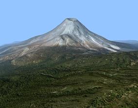 3D Volcano Mountains - Colima