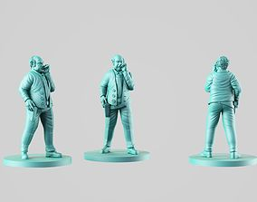 3D print model Inspector kean