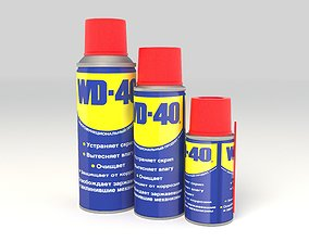 3D Universal grease WD-40 anti-corrosion
