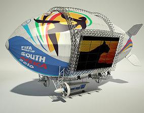 Advertising Zeppelin Fifa 2010 3D model