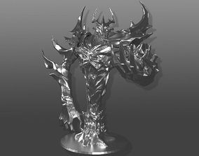 3D printable model Shadow Fiend sculpture