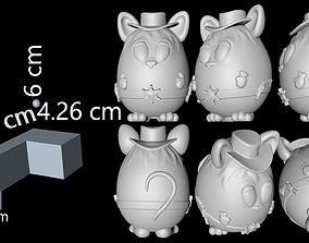 Mouse Sheriff 3D Print model
