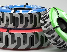up 3D model Gym Equipment Tire