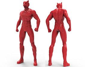 Animal Hero Of Tiger 3D print model