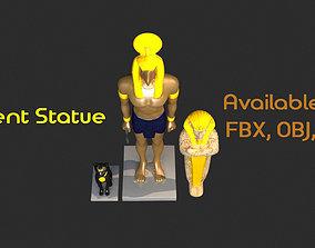 Ancient Statues 3D