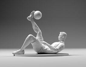 Footballer 02 Flipstrike 01 STL 3D print model