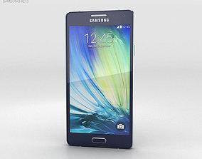 3D Samsung Galaxy Alpha A3 Midnight Black