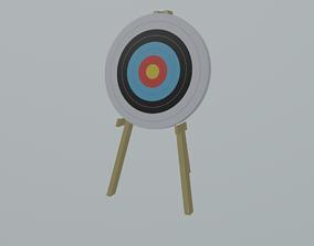 Arrow Target 3D asset