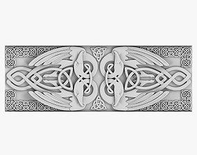 Celtic Ornament 3D model