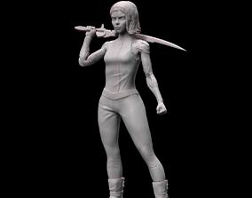 3D print model ALITA BATTLE ANGEL BUST