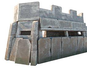 3D asset VR / AR ready Small Bunker