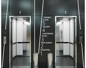 3D model passenger Elevator