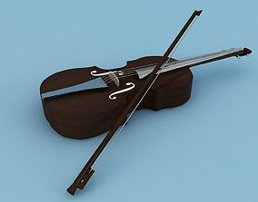violin 3D design