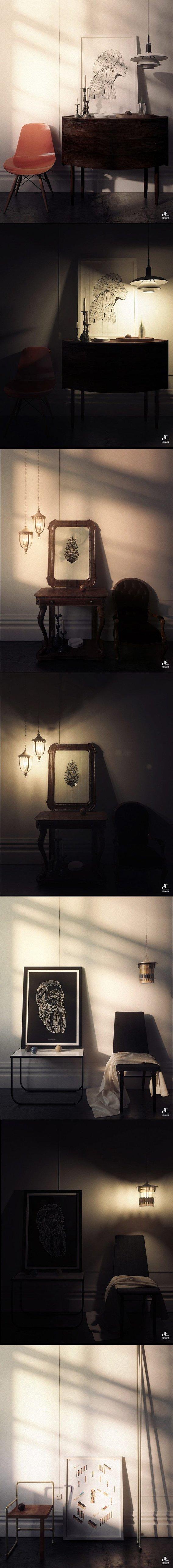 New Interior Series By Hamidreza Edalatnia