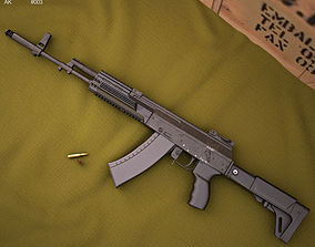 3D model AK-12