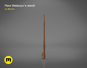Wand of Fleur Isabelle Delacour 3D printable model