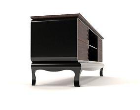 3D model Art deco tv cabinet