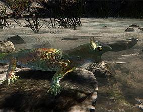 animals Lizard 3D model