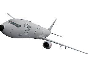 3D model Boeing P-8 Poseidon australian scheme