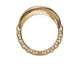 Rolex Ring 3D printable model