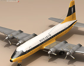 3D model Bristol Britannia