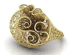rings jewellery Ring ultra vision 3D printable model