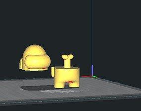 3D printable model Among us