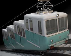 Kyiv Funicular train 1959 3D