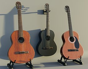 3D model guitars with racks