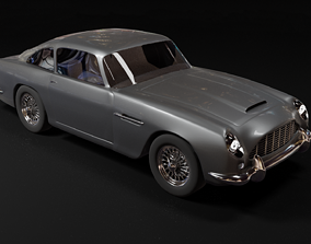 car Aston Martin DB5 3d model