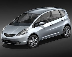 Honda Fit-Jazz 3D