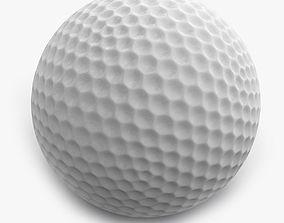balle Golf ball 3D model