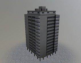 Bern Hochhaus Belp 3D asset