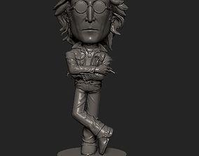 toys 3D printable model John Lennon cartoon statue
