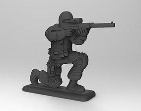 SOBR sniper 3D print model
