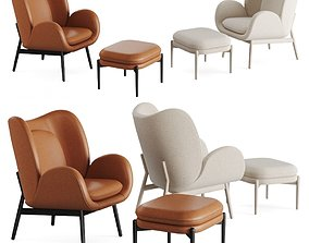 3D asset Fogia Embrace and Embody Armchair