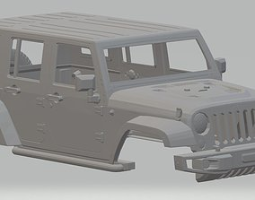 Jeep Rubicon Printable Body Car hobby