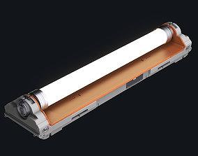 Sci-fi Fluorescent Lamp 3D