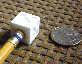 3D print model MC Creeper Pencil Top