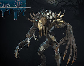 Reaper 3D asset animated