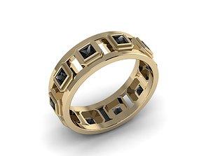 Men Jewerly Ring 022 3D print model