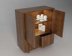 Stockholm Ikea Cabinet Storage Unit 3D model