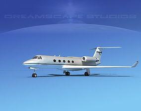 3D model Grumman Gulfstream G-V V07