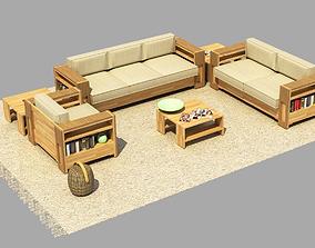 3D model Sofa Suite