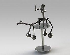 3D Kinetic horse
