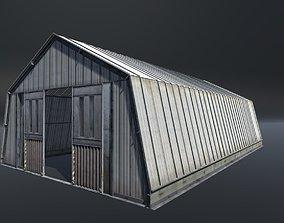 Hangar modular 3D model