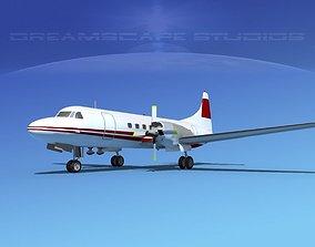 Convair CV-580 Corporate 9 3D model